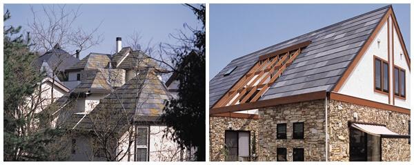 【石屋根:玄昌石】クールーフ工法が無添加住宅に最適な理由