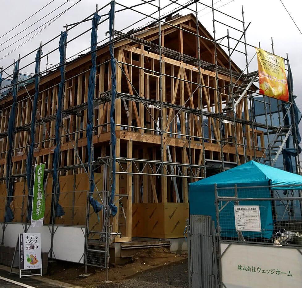 袖ケ浦モデルハウスの構造見学会